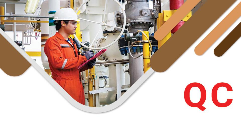 کنترل کیفیت QC در مهندسی مواد و مکانیک