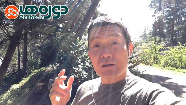 ضبط ویدئوی آموزشی سلفی